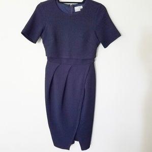 Asos Navy Maternity Dress size 10